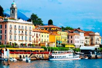 Panoramica di Como, Italia - Europa