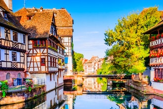 Panoramica Alsazia, Francia - Europa
