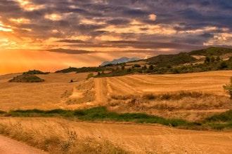 Panoramica Navarra, Spagna - Europa