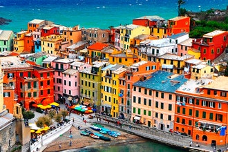 Panoramica Liguria, Italia - Europa