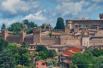 Panoramica delle Marche, Italia - Europa
