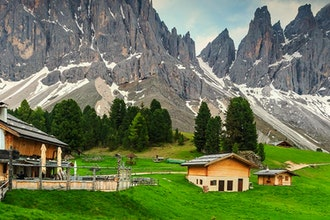 Panoramica Trentino Alto Adige, Italia - Europa