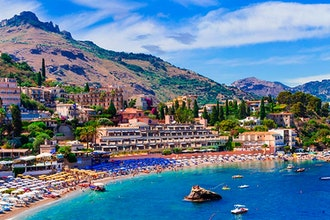 Panoramica Sicilia, Italia - Europa