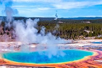 Panoramica Yellowstone, Stati Uniti - America