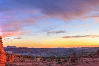 Panoramica Arches National Park, Stati Uniti - America