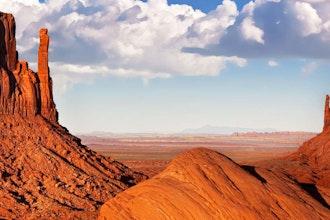 Panoramica della Monument Valley, Stati Uniti - America