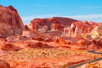 Panoramica Regione, Nevada - America