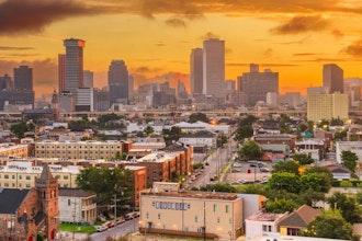 Panoramica Louisiana, Stati Uniti - America