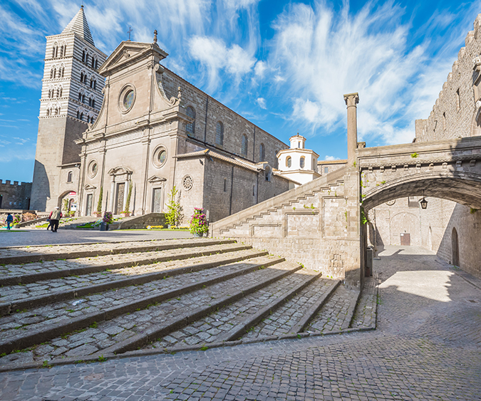 Panoramica, Viterbo - Italia
