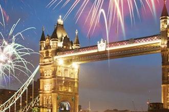 Capodanno a Londra, Londra - Gran Bretagna