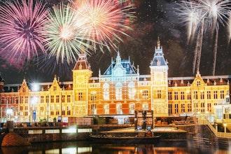 Fuochi d'artificio, Amsterdam - Olanda