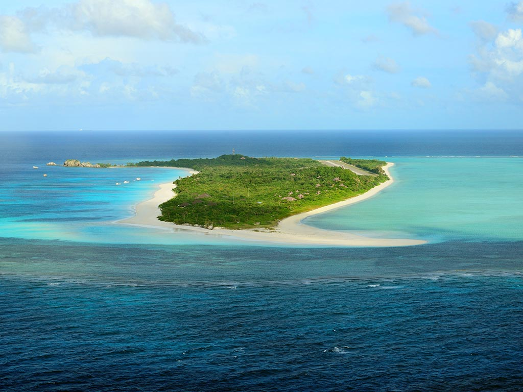 Amanpulo Island Resort - Vista aerea