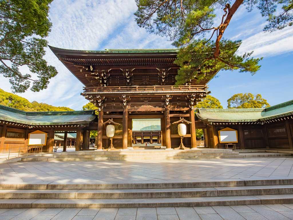 Tokyo - Santuario di Meji Jingu