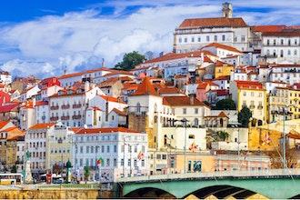 panorama, Coimbra - Portogallo