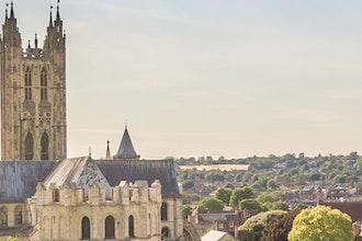panorama cattedrale, Canterbury - Gran Bretagna