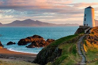 Panoramica Galles. Gran Bretagna - Europa