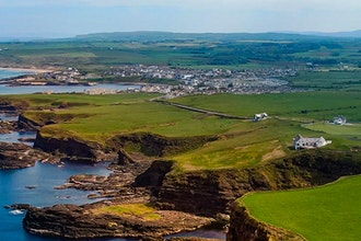 Panoramica dell'Irlanda del nord, Gran Bretagna - Europa