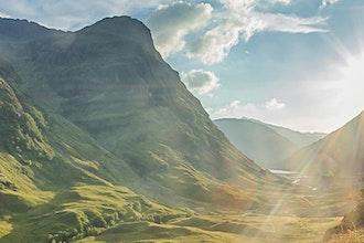 Panoramica Scozia, Gran Bretagna - Europa