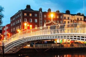 Ha penny bridge, Dublino - Irlanda