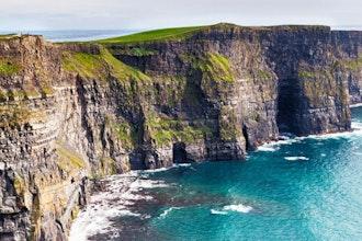 Panoramica delle scogliere di Moher, Irlanda - Europa