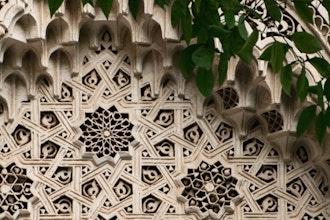 dettaglio Palais de la Bahia, Marrakech - Marocco
