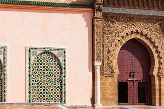 mausoleo di Moulay Ismail, Meknes - Marocco
