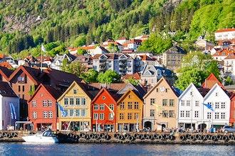 Bryggen, Bergen - Norvegia