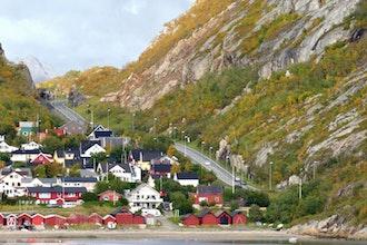 panorama, Bodo - Norvegia