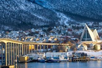 panorama, Tromso - Norvegia