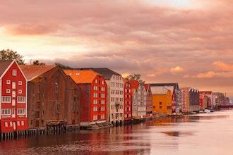 panorama, Trondheim - Norvegia