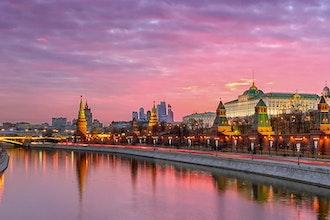 Panoramica Mosca, Russia - Europa