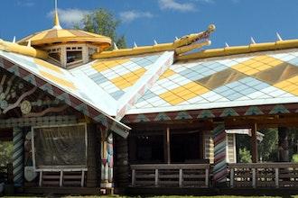 casa antica, Mandrogy - Russia