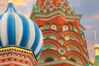 dettaglio Cattedrale San Basilio, Mosca - Russia