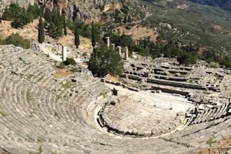 Teatro, Delfi - Grecia