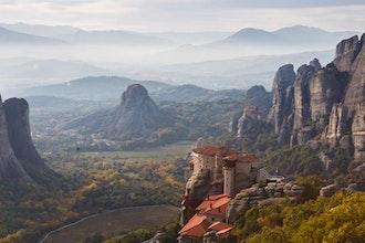 Panoramica Meteore, Grecia - Europa
