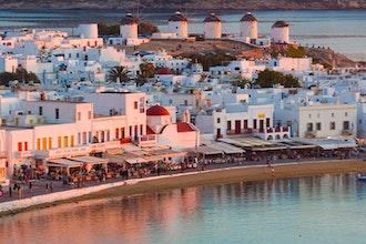 Panoramica Mykonos, Grecia - Europa