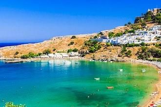 Panoramica Rodi, Grecia - Europa