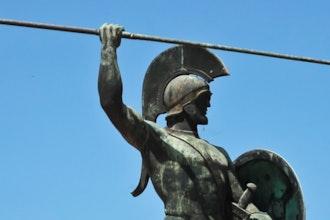 Statua Re Leonida, Sparta - Grecia