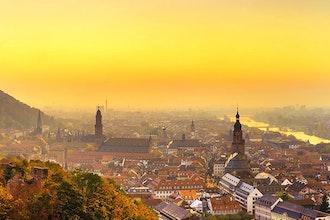 Panoramica Castello, Heidelberg - Germania