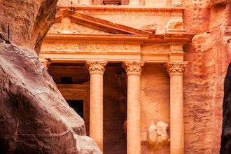 scorcio, Petra - Giordania