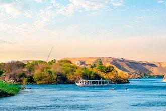 Panoramica della valle del Nilo, Egitto - Africa