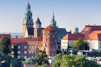 panorama su monastero, Czestochowa - Polonia