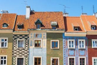 case piazza mercato, Poznan - Polonia