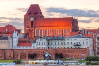 panorama, Torun - Polonia