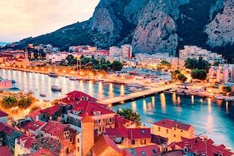 Panoramica Dalmazia, Croazia - Europa