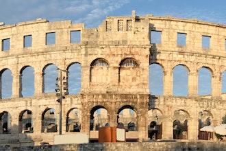 anfiteatro, Pola - Croazia