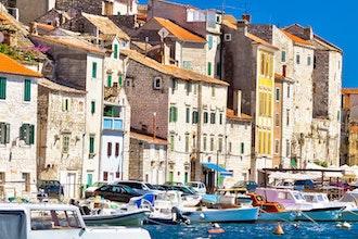 panorama, Sibenico - Croazia