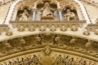 dettaglio cattedrale, Zagabria - Croazia
