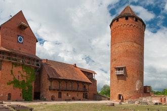 Panoramica del Parco Nazionale di Gauja, Lettonia - Europa