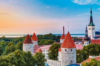 panorama, Tallinn - Estonia